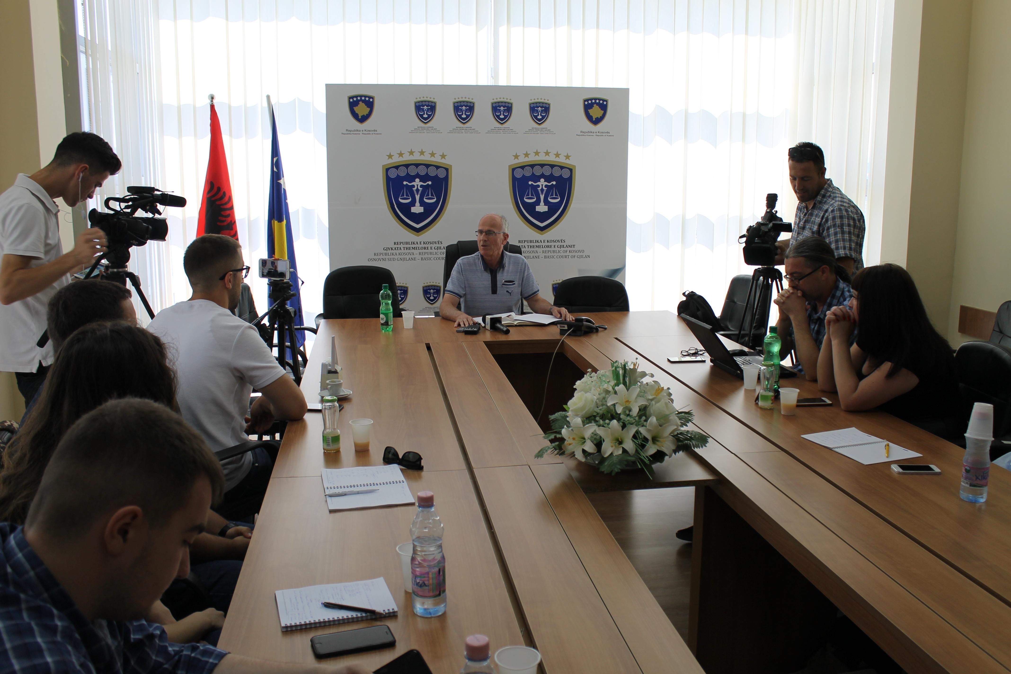 Gjykata Themelore e Gjilanit për gjashtë muaj ka zgjidhur 7.200 lëndë