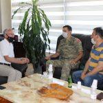 Kryetari Azizi pret në takim Komandantin Balik