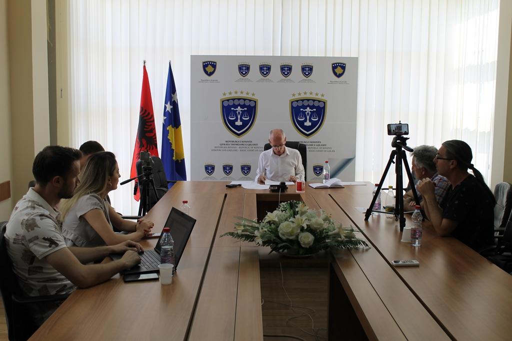 Gjykata Themelore e Gjilanit me përformancën më të mirë në nivel të vendit